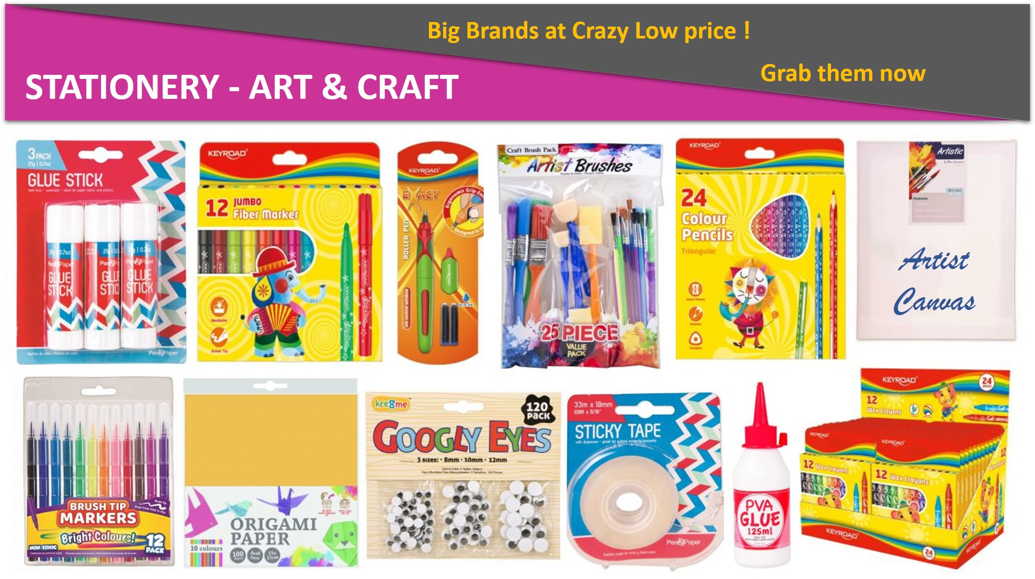 Stationery - Art & Craft