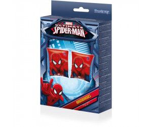 "12 x Licensed Spiderman Arm bands - Inflatable Arm Bands 9"" x 6"" - Wholesale Bulk Lot Deal"