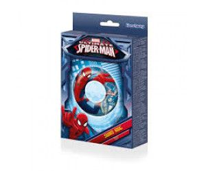 4 x Licensed Spiderman Inflatable Swim Ring 56cm - Wholesale Bulk Lot Deal