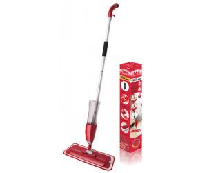 12 x Heavy Duty Easy Spray Mop 40 cm with 110cm Handle - Wholesale Bulk Lot Deal