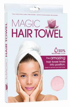 12 x MICROFIBRE HAIR TOWEL WRAP - 2 Assorted - Wholesale Bulk Lot Deal