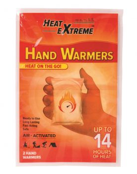 80 Piece (40 x 2 Pack) HAND WARMERS AIR ACTIVATED - Wholesale Bulk Lot Deal