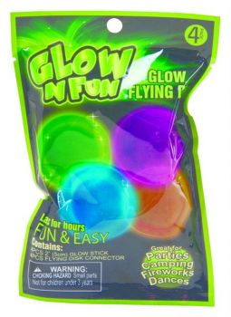 96 Piece (24 x 4 Pack) Glow in the Dark Party Favour - 6 Assorted Designs - Wholesale Bulk Lot Deals