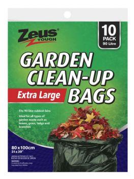 240 Bags (24 x 10 Pack) Garden Bags 90L 80 x 100cm - Wholesale Bulk Lot Deal