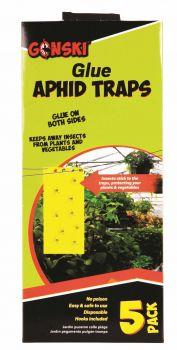 250 Pack (50 x 5 Pack) Aphid Glue Trap - Wholesale Bulk Lot Deals