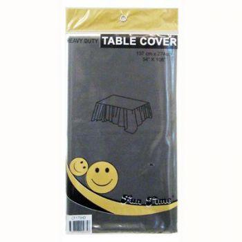 12 x Black Heavy Duty Table Cover - Wholesale Deals!