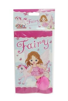 120 Pack - 12 x 10 Pack Fairy Pony Theme Birthday Party Printed Balloons - Wholesale lot