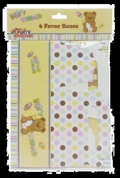 288 Pack (48 x 6 Pack) Baby Shower Theme Party Favor Box - Wholesale Bulk Lot Deal
