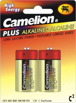 12 Pack - 6 x 2 Pack Camelion C size Alkaline Battery - Wholesale Deal!