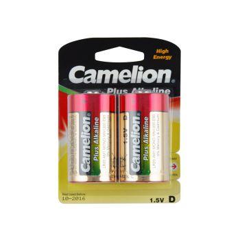 6 Pack - 3 x 2 Pack Camelion D size Alkaline Battery Super Value!
