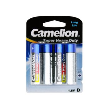 12 Pack - 6 x 2 Pack Camelion D size 2 Super Heavy Duty Battery - Wholesale Deals!