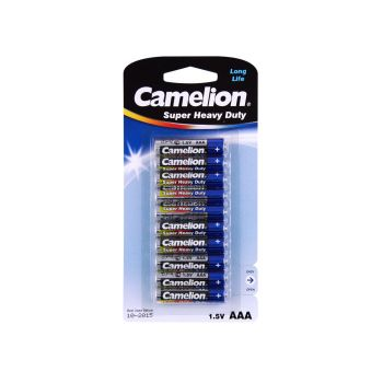 30 Pack - 3 x 10 Pack Camelion AAA Super Heavy Duty Battery - Super Value!