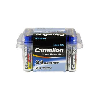 48 Pack - 2 x 24 Pack Camelion AAA Super Heavy Duty Battery - Super Value!