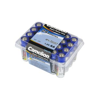 48 Pack - 2 x 24 Pack Camelion AA Super Heavy Duty Battery - Super Value!