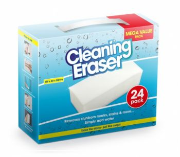 288 PACK (12 X 24 PACK) CLEANING ERASER MULTIPACK - Wholesale Bulk Lot Deal