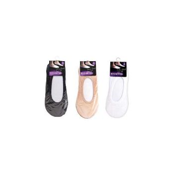 STRETCH SOCKETTES 2PAIR - 3 ASSORTED COLOURS - Wholesale Bulk Lot Deal