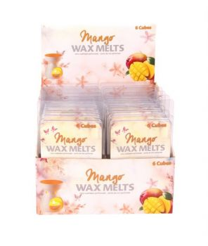 144 Piece (24 x 6 Pack) Mango Wax Melts / scented candles for perfect home Aroma - Wholesale Bulk Lot Deals