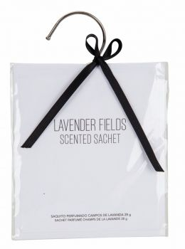 24 x SCENTED SACHET - LAVENDER FIELDS - AROMA FOR HOME & CAR - Wholesale Bulk Lot Deals