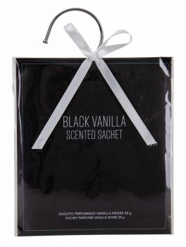 24 x SCENTED SACHET - BLACK VANILLA - AROMA FOR HOME & CAR - Wholesale Bulk Lot Deals