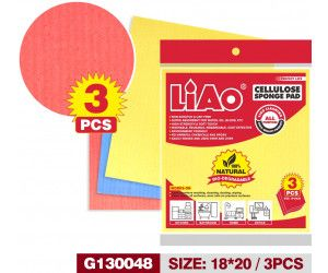 72 Pack ( 24 x 3 Pack ) Cellulose Cleaning Cloth - Wholesale Bulk Lot Deal