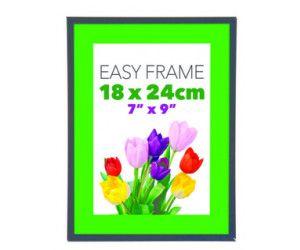 12 x EASY FRAME BLACK 18x24cm - PICTURE FRAME - WHOLESALE BULK LOT DEALS