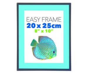 12 x EASY FRAME BLACK 20x25cm - PICTURE FRAME - WHOLESALE BULK LOT DEALS