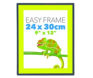 12 x EASY FRAME BLACK 24x30cm - PICTURE FRAME - WHOLESALE BULK LOT DEALS