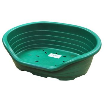 Strong Plastic Pet Bed - Green - Large size