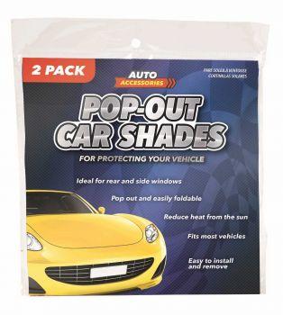 48 Pack (24 X 2 Pack) POP OUT SUNSHIELD SHADE - Wholesale Bulk Lot Deal