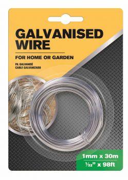 24 x GALVANISED WIRE 1mm x 30m - Wholesale Bulk Lot Deals