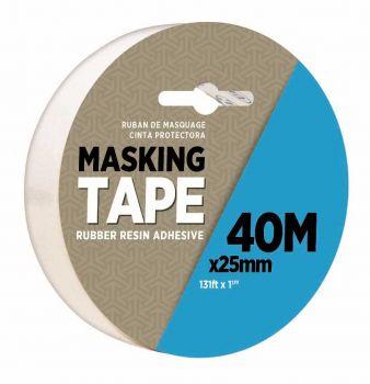24 x MASKING TAPE 40m x 25mm - Wholesale Bulk Lot Deals