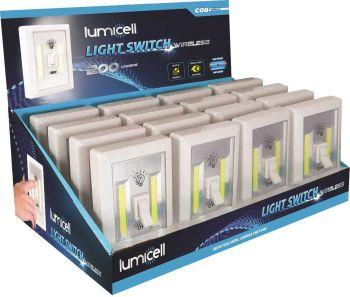 24 x COB LED CORDLESS LIGHT SWITCH - WIRELESS LIGHT - Wholesale Bulk Lot Deals
