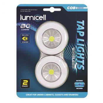 48 Pack (24 X 2 Pack) COB TAP LIGHT - Wholesale Bulk Lot Deals
