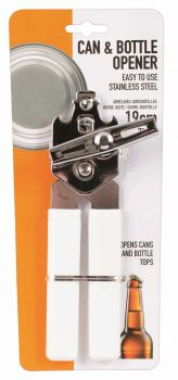Deluxe Can Opener 19cm - 2 Assorted Colours - Wholesale Bulk Lot Deal