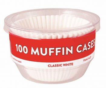 3600 Piece (36 x 100 Pack) MUFFIN CASES 11cm - Wholesale Bulk Lot Deals