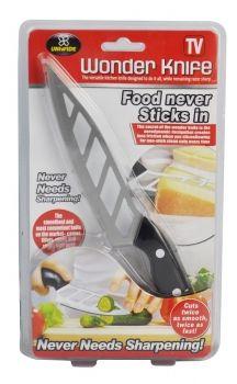 24 x Wonder Knife Sharp Stainless Steel Non stick blade - Wholesale Bulk Lot Deal