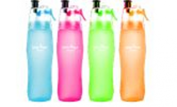 12 x SPRAY MIST BOTTLES - WATER BOTTLE - Wholesale Bulk Lot Deal