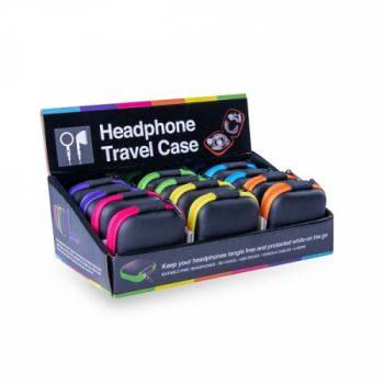 12 x HEADPHONE TRAVEL CASE - Wholesale Bulk Lot Deal