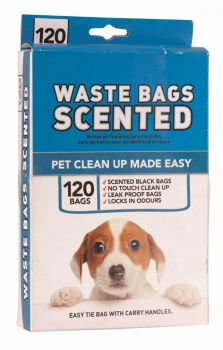 2880 Piece (24 x 120 Piece) Scented Doggy Waste Bag - Wholesale Bulk Lot Deal