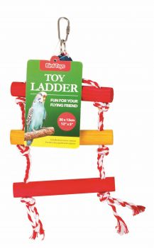 12 x Bird Toy Ladder 30 x 13cm - Wholesale Bulk Lot Deal