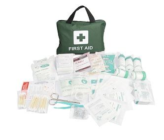 12 x 210 Piece Emergency First Aid Kit - Wholesale Bulk Lot Deal