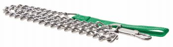 12 x Dog Lead Metal Chain for Big Dog 1.2m - Wholesale Bulk Lot Deal