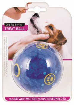12 x Pet Dog Plastic Treat Ball - Wholesale Bulk Lot Deal