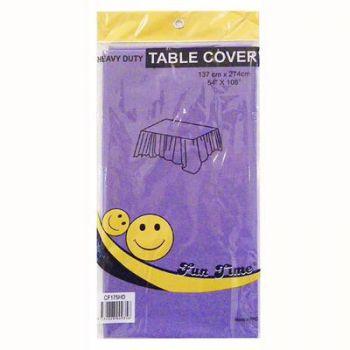 12 x Purple Heavy Duty Table Cover - Wholesale Deals!
