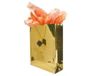 10 x Extra Large XL Holographic Gift Bags 33 x 42cm - Assorted Colours - Wholesale Bulk Lot Deals