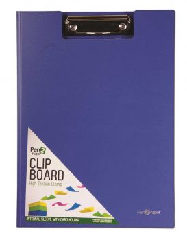 25 x A4 Clipboard with cover - 4 Assorted Colours - Wholesale Bulk Lot Deals