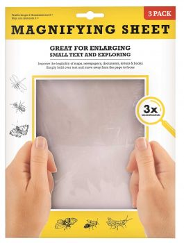 24 x MAGNIFYING SHEET 21x28cm - Wholesale Bulk Lot Deal