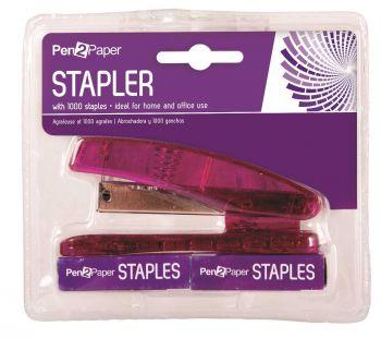 24 x Stapler & 1000 Staples Set - Wholesale Bulk Lot Deals