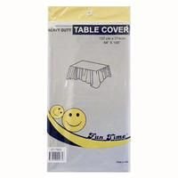 12 x Silver Heavy Duty Table Cover - Wholesale Deals!