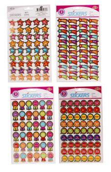 3456 Stickers (72stickers per pk x 48pk) Merit Stickers - WHOLESALE BULK LOT DEAL